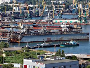 Ремонт причалов, речных и морских портов
