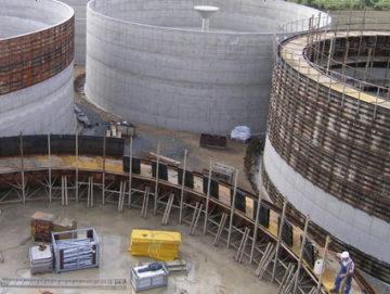 Гидроизоляция и восстановление ж/б резервуаров